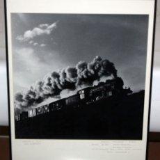 Fotografía antigua: EL FOTOGRAFO DE REUS - MANUEL CUADRADA I GIBERT - FOTOGRAFIA - MAQUINA A VAPOR - 51 CM X 41 CM.. Lote 172233340