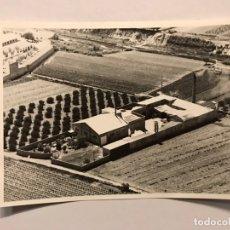 Fotografía antigua: FOTOGRAFÍA INDUSTRIAL AÉREA. (1) ANTIGUA. BONREPOS .CENTRO DE TRANSFORMACIÓN...ABONOS (H.1960?). Lote 172235288
