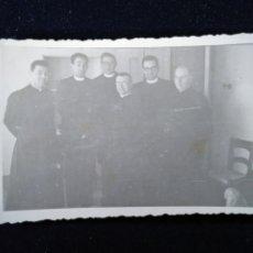 Fotografía antigua: ANTIGUA FOTOGRAFÍA CLÉRIGOS SEMINARIO CURAS . Lote 172624224