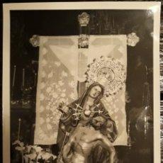 Fotografía antigua: FOTOGRAFIA ARTISTICA VIRGEN DE LA PIEDAD. Lote 172731908
