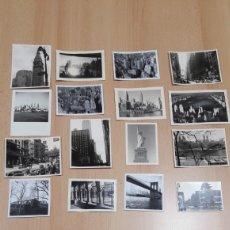Fotografía antigua: 16 FOTOS DE NUEVA YORK 1960. Lote 172803157