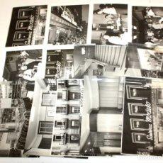 Fotografía antigua: LOTE DE 13 FOTOGRAFIAS DE LA SASTRERIA MODELO (BARCELONA). FOT. CASAS. 24 CM. X 18 CM.. Lote 172812272