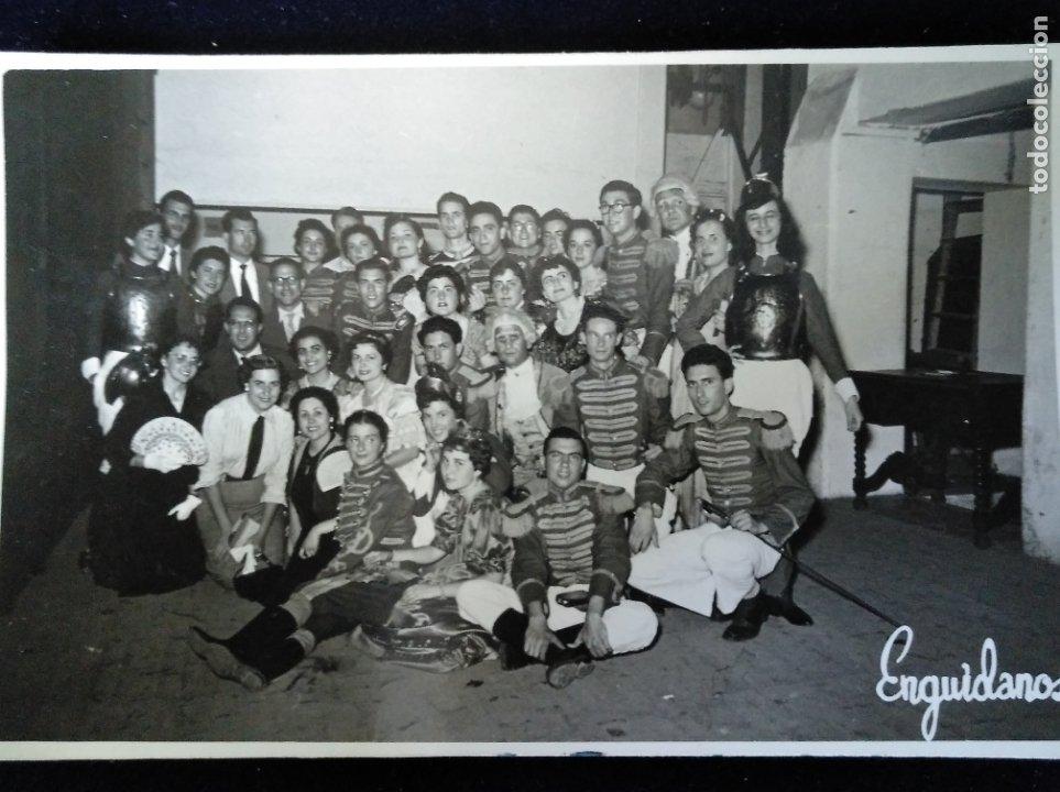 VALENCIA 1955 FALLAS CARNAVAL DISFRACES FOTO EGUÍDANOS (Fotografía - Artística)