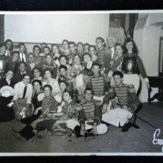 Fotografía antigua: VALENCIA 1955 FALLAS CARNAVAL DISFRACES FOTO EGUÍDANOS . Lote 172833277