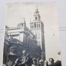 Fotografía antigua: FOTOGRAFÍA GIRALDA SEVILLA AÑOS 50. Lote 172851887