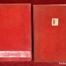 Fotografía antigua: PAREJA DE ALBUMES DE LA COMPAÑIA DE BALLET JUAN TENA. CON FOTOS ORIGI. DE JULIO UBIÑA Y MORERA FALCO. Lote 172932782