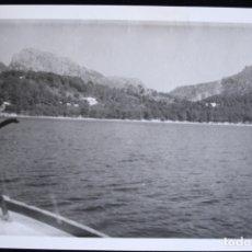 Fotografía antigua: FOTOGRAFÍA MALLORCA BAHÍA DE FORMENTOR . Lote 173159633
