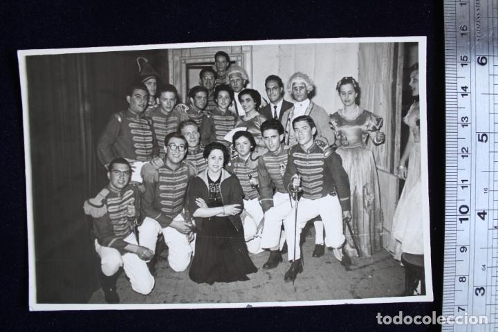 FOTOGRAFÍA VALENCIA FALLAS 1955 DISFRACES FOTO ENGUIDANOS (Fotografía - Artística)