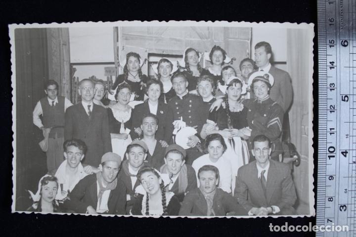 FOTOGRAFÍA VALENCIA FALLAS 1956 DISFRACES FOTO ENGUIDANOS (Fotografía - Artística)