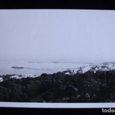 Fotografía antigua: FOTOGRAFÍA BAHÍA DE PALMA DE MALLORCA 1966. Lote 173453843