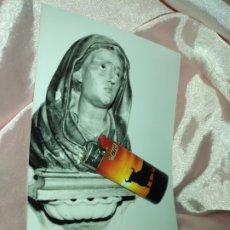 Fotografía antigua: FOTOGRAFIA RELIGIOSA CADIZ IGLESIA DE SAN ANTONIO VIRGEN DOLOROSA. Lote 173479772