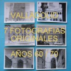 Fotografía antigua: FOTOGRAFIA - LOTE DE 7 FOTOGRAFIAS DE VALLADOLID FINALES AÑOS 60 O PRINCIPIOS DE LOS 70. Lote 26458661