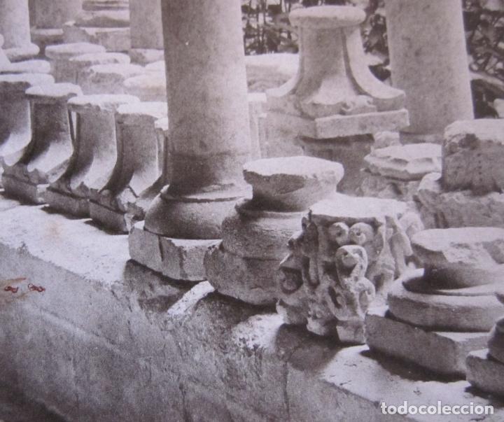 Fotografía antigua: FOTOGRAFIA ANTONI MASSÓ. GIRONA. S. PERE DE GALLIGANS. GALERIA DEL CLAUSTRO. FOTOTIPIA J THOMAS - Foto 3 - 173861700