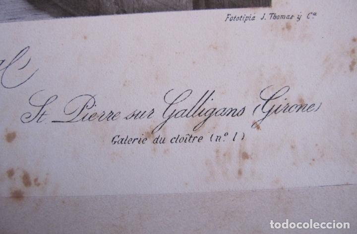 Fotografía antigua: FOTOGRAFIA ANTONI MASSÓ. GIRONA. S. PERE DE GALLIGANS. GALERIA DEL CLAUSTRO. FOTOTIPIA J THOMAS - Foto 9 - 173861700