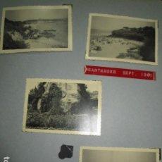 Fotografía antigua: SANTANDER LOTE 4 FOTOS ANTIGUAS TITULADAS 1961. Lote 174050018