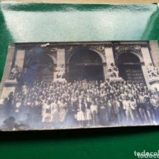 Fotografía antigua: ANTIGUA FOTO DE GRUPO. ZARAGOZA. 8 DE AGOSTO DE 1948. Lote 174255338