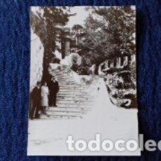 Fotografía antigua: ANTIGUA FOTOGRAFIA. BARCELONA.PARQUE GÜELL.1931.. Lote 174293669