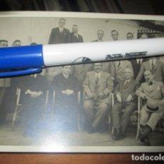 Fotografía antigua: BALNEARIO DIANA 1933 PLAYA ALICANTE FOTO TARJETA POSTAL CELEBRIDADES Y MILITARES . Lote 174486629