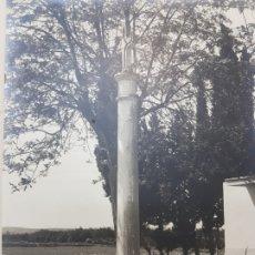 Fotografía antigua: FOTOGRAFÍA GRANDE DE CONCURSO- ALCASER PUEBLO CRISTIANO - AÑOS 60 CON MARCO. Lote 174504964