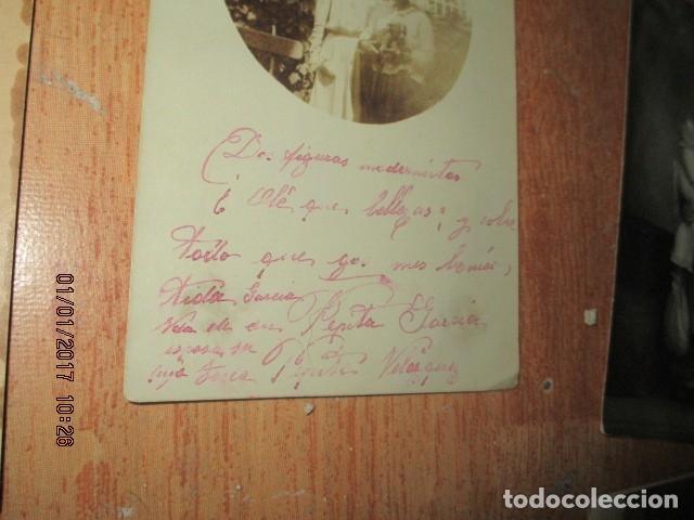Fotografía antigua: LOTE JUEGOS FLORALES VALENCIA 1915 DAMA CON MEDALLA DE LAS FIESTAS Y COLEGIO NIÑAS - Foto 9 - 174549987