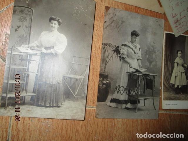 Fotografía antigua: LOTE JUEGOS FLORALES VALENCIA 1915 DAMA CON MEDALLA DE LAS FIESTAS Y COLEGIO NIÑAS - Foto 13 - 174549987