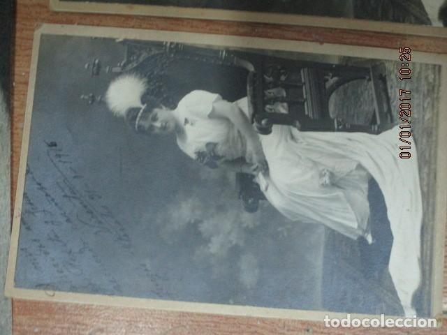 Fotografía antigua: LOTE JUEGOS FLORALES VALENCIA 1915 DAMA CON MEDALLA DE LAS FIESTAS Y COLEGIO NIÑAS - Foto 20 - 174549987