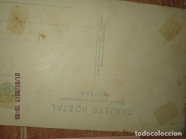 Fotografía antigua: LOTE JUEGOS FLORALES VALENCIA 1915 DAMA CON MEDALLA DE LAS FIESTAS Y COLEGIO NIÑAS - Foto 41 - 174549987