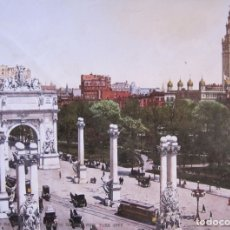 Fotografía antigua: THE NAVAL ARCH AT MADISON SQUARE, NEW YORK CITY . 1900. COPYRIGT DETROIT, 17 X 23 CM (53570). Lote 174965079
