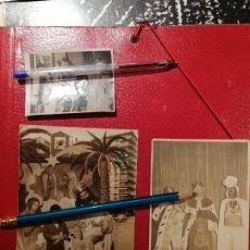 Fotografía antigua: ALICANTE REYES MAGOS DE ORIENTE TRES FOTOS. Lote 175118103