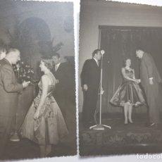 Fotografía antigua: FOTOGRAFÍAS ANTIGUAS CONCURSO DE ARTISTAS RADIO SELLADAS. Lote 175127564