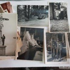 Fotografía antigua: LOTE FOTOGRAFIAS AÑO 30-40-50 ALGUNAS SELLADAS Y RARAS. Lote 175129604