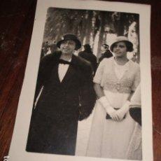 Fotografía antigua: SEÑORAS HIJA Y ESPOSA DE POLITICO REPUBLICA ALICANTE EXPLANADA NOVIEMBRE 1932. Lote 174517650