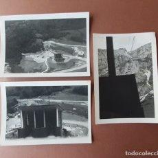 Fotografía antigua: LOTE 3 FOTOGRAFÍAS TELEFÉRICO DE FUENTE DÉ. PICOS DE EUROPA. CANTABRIA. AÑOS 60.. Lote 175141143