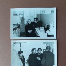 Fotografía antigua: LOTE 3 FOTOGRAFÍAS DEL SACERDOTE EDUARDO BERBES. COADJUTOR DE SAN JOSÉ DE PUMARÍN. OVIEDO. 1966.. Lote 175208194