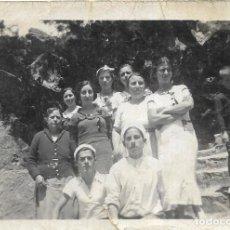 Fotografía antigua: == MM538 - FOTOGRAFIA - GRUPO DE AMIGAS. Lote 175232592