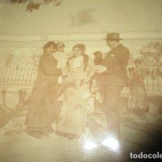 Fotografía antigua: ANTIGUA FOTO TARJETA POSTAL FAMILIA DISTINGUIDA VALENCIA PRINCIPIOS DE SIGLO PROCEDE DE GODELLA. Lote 175509318