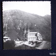 Fotografía antigua: FOTOGRAFÍA SANTUARIO DE COVADONGA ASTURIAS . Lote 175672855