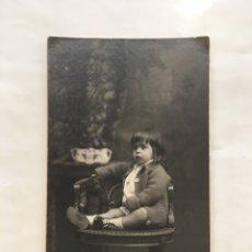 Fotografía antigua: FOTO. RETRATO DE ASUNCIÓN. FOTO-STUDIO NIEPCER. BARCELONA. FECHA, 6-2-1931.. Lote 176064479