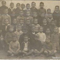 Fotografía antigua: == W571 - FOTOGRAFÍA - GRUPO DE NIÑOS EN LA FOTO ANUAL DEL COLEGIO. Lote 176174267