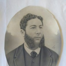 Fotografía antigua: FOTOGRAFÍA SERRANO. VIGO, S. XIX. GALICIA.. Lote 176335273
