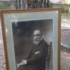Fotografía antigua: GRAN RETRATO FIRMADO PADRÓ S XIX. Lote 176368245