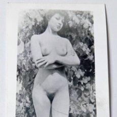 Fotografía antigua: ANTIGUA FOTO ERÓTICA PORNOGRÁFICA MUJER DESNUDA SEXY AÑOS 60'-70' . Lote 176451408