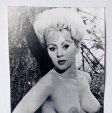 Fotografía antigua: ANTIGUA FOTO ERÓTICA PORNOGRÁFICA MUJER DESNUDA SEXY AÑOS 60'-70' . Lote 176451722