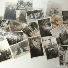 Fotografía antigua: LOTE DE ANTIGUAS FOTOGRAFÍAS . Lote 176512458