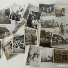 Fotografía antigua: LOTE DE ANTIGUAS FOTOGRAFÍAS . Lote 176512523