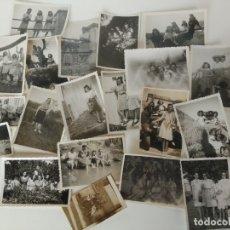 Fotografía antigua: LOTE DE ANTIGUAS FOTOGRAFÍAS . Lote 176512618