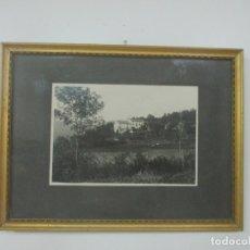 Fotografía antigua: ANTIGUA FOTOGRAFÍA - MAS EL SERRAT, LA PINYA (LA GARROTXA) GIRONA - AÑO 1932. Lote 176527563