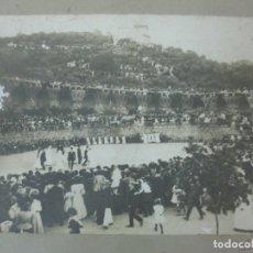 Fotografía antigua: ANTIGUA FOTOGRAFÍA - JOCS FLORALS DE BARCELONA - PARTICIPAN BANYOLES AMB EL CONTRAPÀS - PARC GÜELL. Lote 176528423