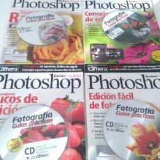 Fotografía antigua: LOTE 4 GUÍAS PRÁCTICAS DE PHOTOSHOP. Lote 176583475
