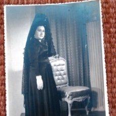 Fotografía antigua: CLAVARIESA - FOTO ALFONSO - UTIEL. Lote 177107405